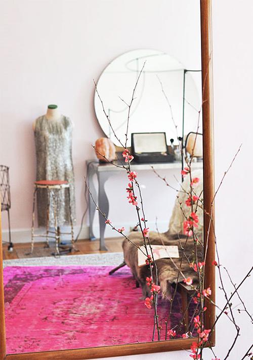 Layered Rugs via SF Girl By Bay