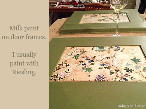 Milk Paint and Riesling