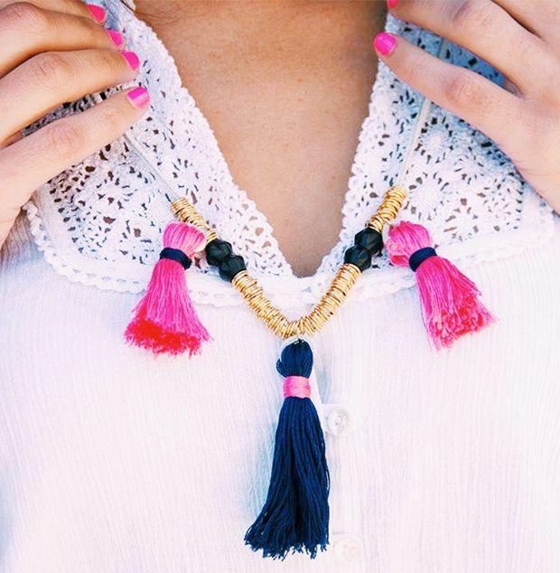 DIY Boho Tassel Necklace Kit by Justina Blakeney