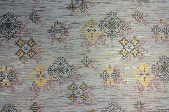 Vintage 1950s Wallpaper from Hannahs Treasures Etsy Shop