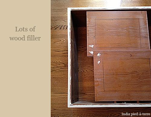Wood Filler, Lots of Wood Filler