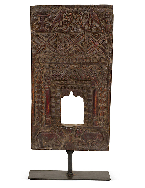 Wooden Niche on Stand from South India