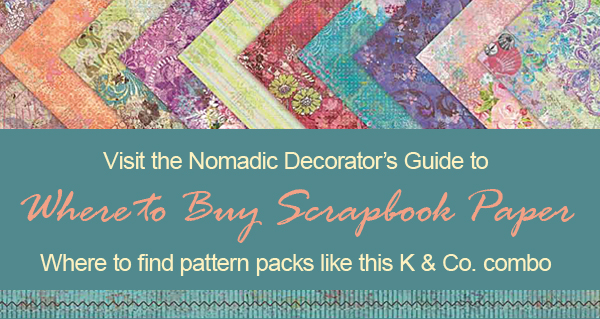 Where to Buy Scrapbook Paper
