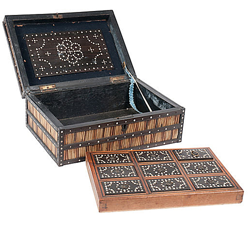 Anglo-Indian Porcupine Quill Box via One Kings Lane