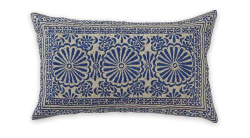 Blue Sari Cushion from Aura Home
