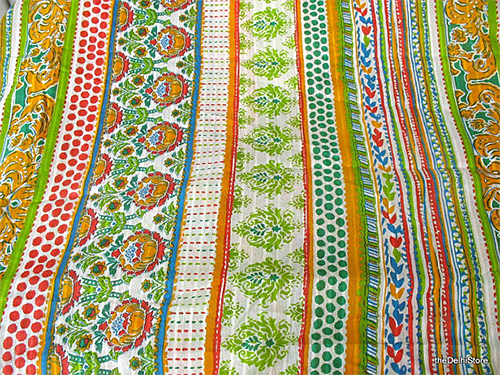 Colorful Cotton Fabric from The Delhi Store on Etsy