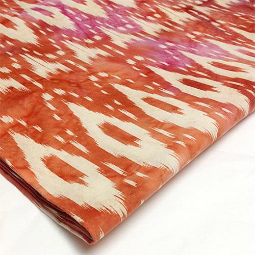 Ikat Cotton Fabric from Desi Fabrics Etsy Shop