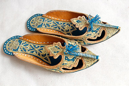Indian Shoes from Phoenix in Fire Etsy Shop