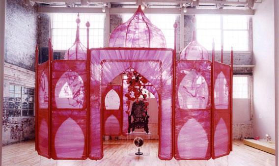 Rina-Banerjee-at-the-Musee-Guimet-in-Paris