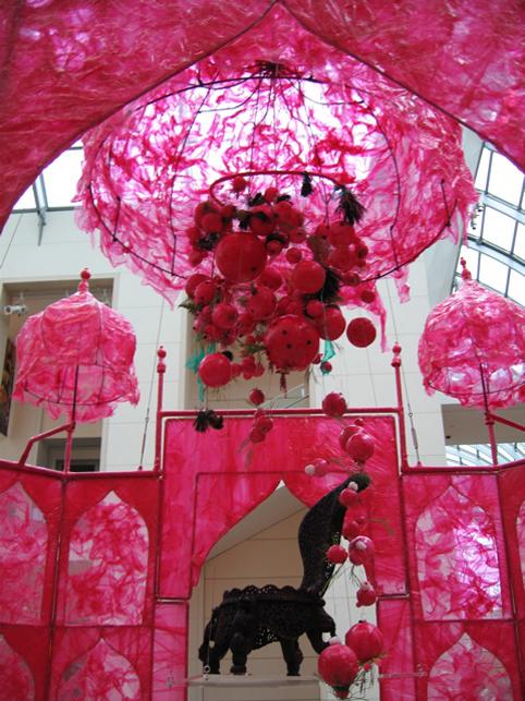 Rina Banerjee Exhibit at Peabody Museum