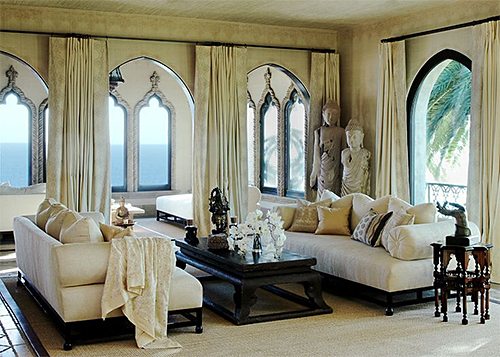 Room Designed for Cher by Martyn Lawrence Bullard