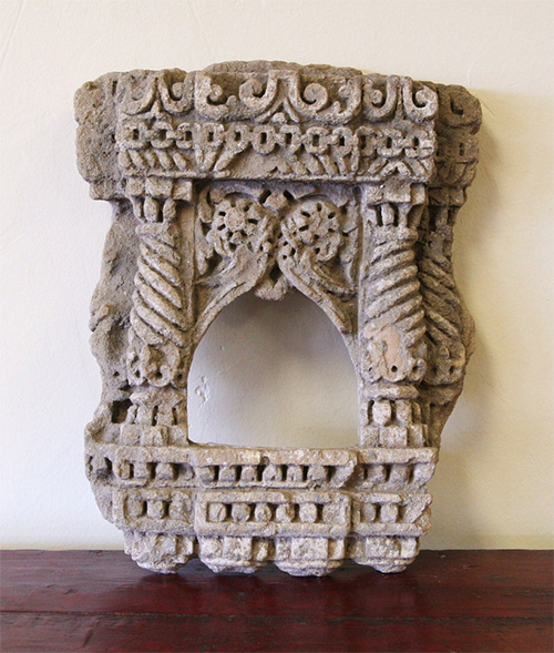 Stone Shrine Niche from India via Baba One of a Kind
