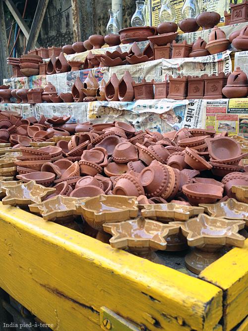 Diwali Diyas on Ponagal Park