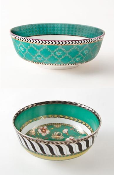 Good Earth China Serving Bowls