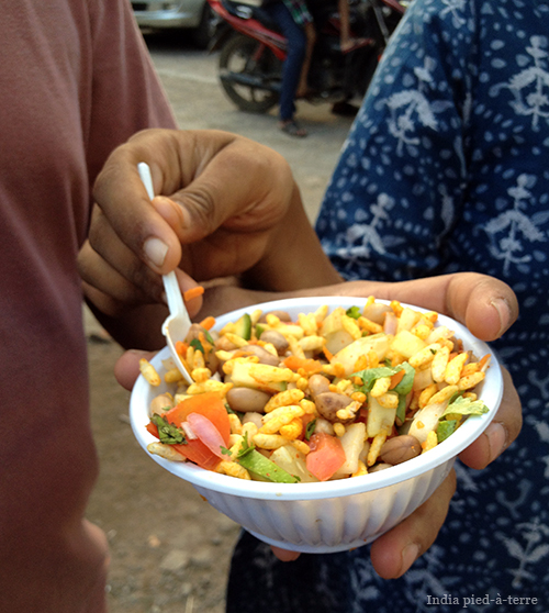 Indian Street Food in Ponagal Park Chennai