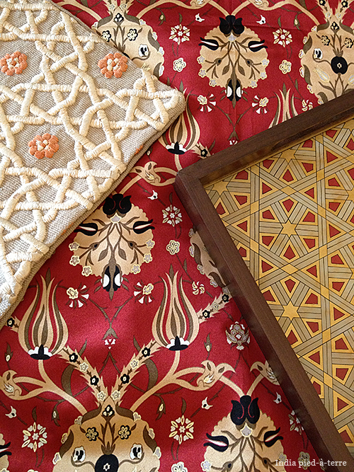 Pattern Mix from India and Uzbekistan