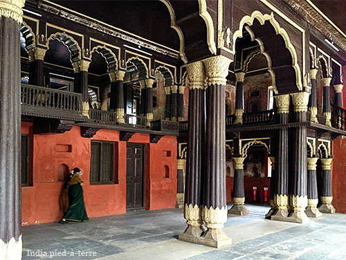 Tipu Sultan's Summer Palace in Bangalore
