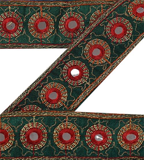 Vintage silk sari border from ebay seller sanskriti india