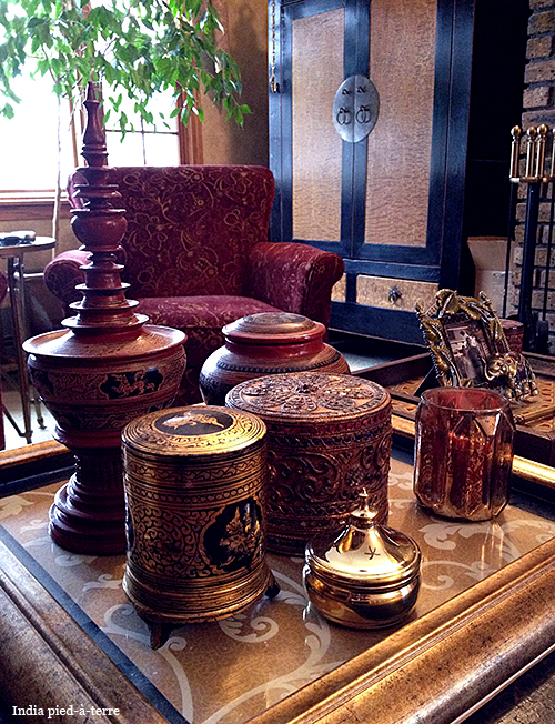 Collection of Lacquerware Boxes