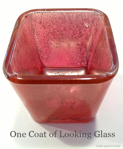 One Coat of Krylon Looking Glass Paint