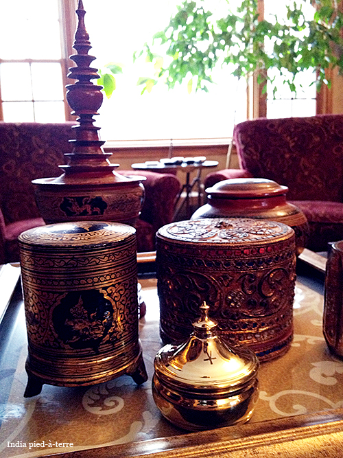 Old Lacquerware Boxes Found in Thailand