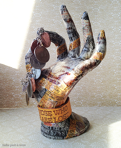 How to Make a Washi Tape Sculpture