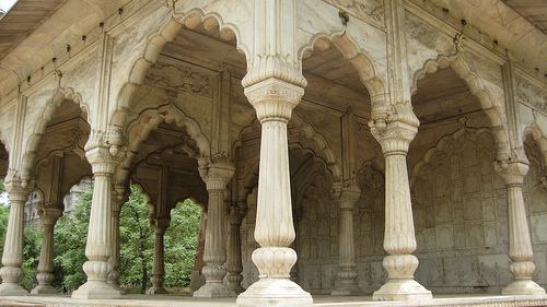 Mughal Arches Photo by Briony and Terry Flickr