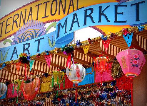Santa Fe International Folk Art Market via Feathers Boutique Vintage Blog