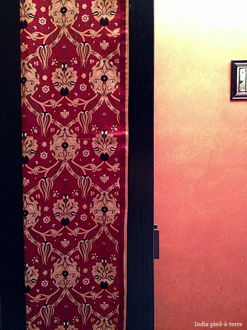 Turkish Bursa Silk Tulip Textile