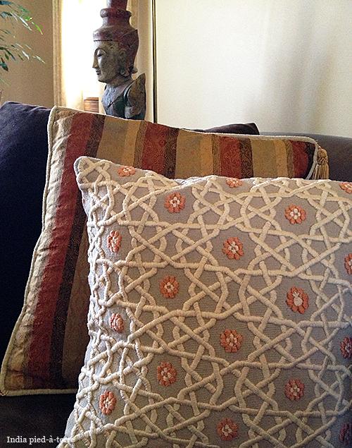 Uzbek Khiva Embroidered Pillow