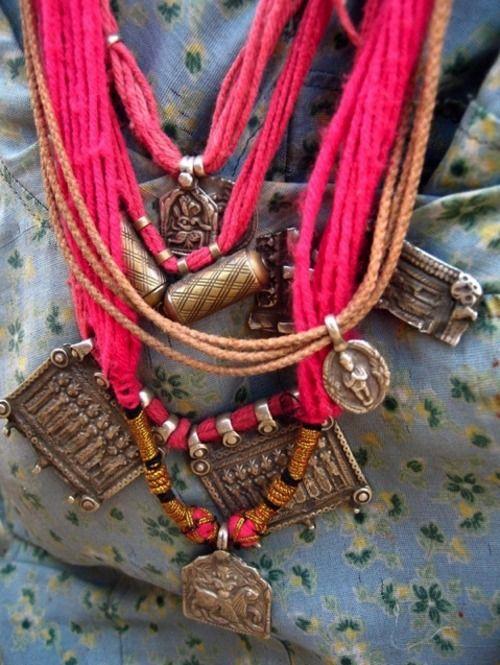 Indian Amulet Necklace