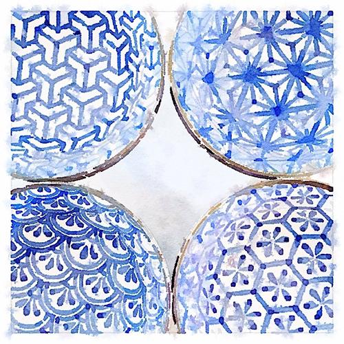 Bowl Patterns via Beth Maloney on Instagram