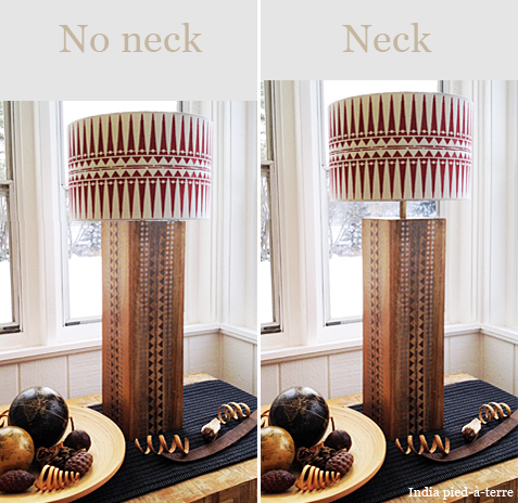 What a Difference a Lamp Neck Makes