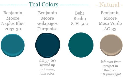 Closet Nook Paint Colors