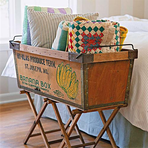 Banana Box Bin via Better Homes & Gardens