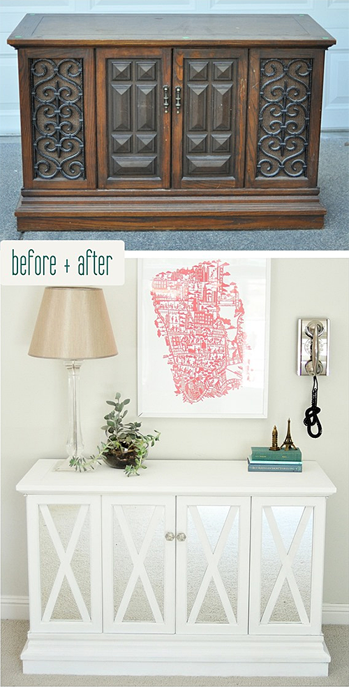 Centsational Girl's $10 Goodwill Cabinet Makeover