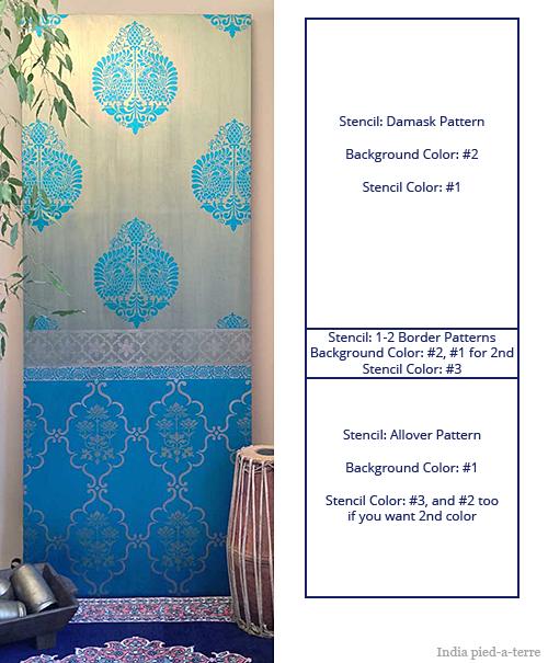 Formula for Creating a Painted Sari Look