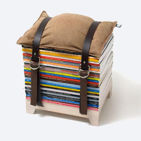 Hockenheimer Magazine Storage Seating