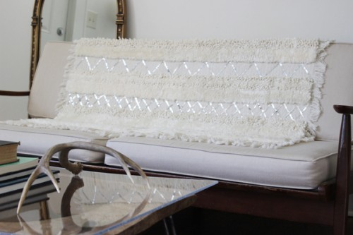 DIY Moroccan Wedding Blanket by The White Buffalo Styling Co