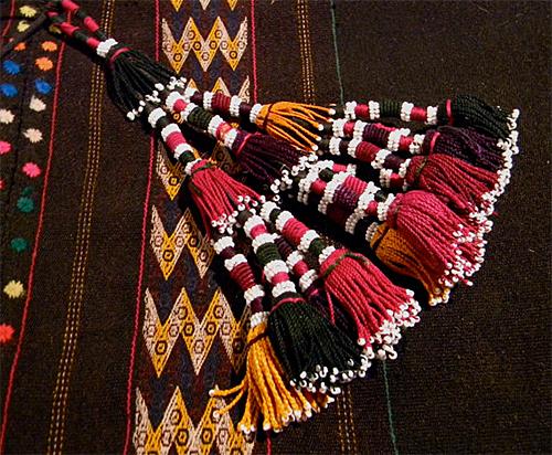 Turkomen Tassels from Luxethink Etsy Shop