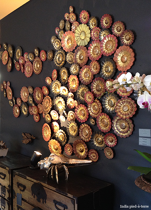 Wooden Thai Rosettes from The Golden Triangle