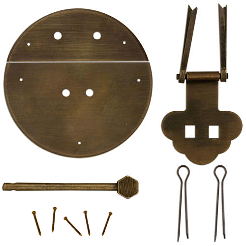 Chinese Brass Hardware Pieces to Assemble