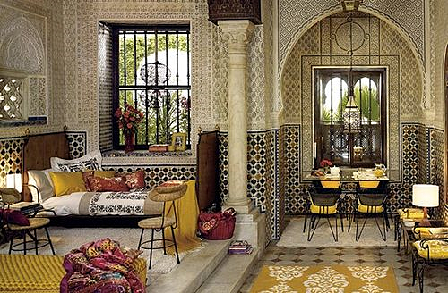 Moroccan Zellij Tile via Sandra Espinet Blog