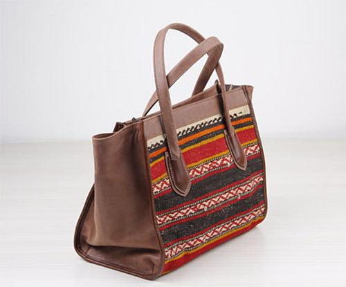 Kilim Bag via The Orient Bazaar