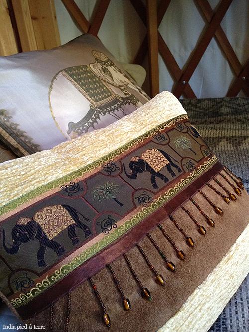 Silk Pillows Gone Glamping