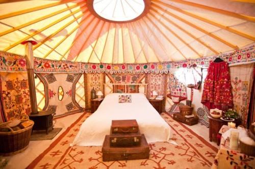 Yurt Style via Love My Dress