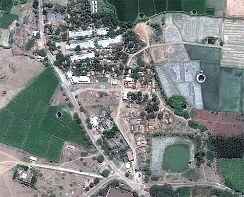 Osur Village in India