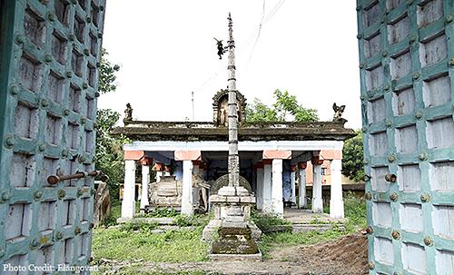 Osur Temple Doors