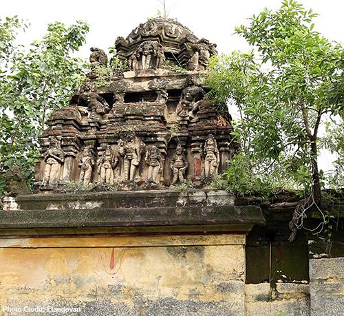 Osur Temple Main Dome