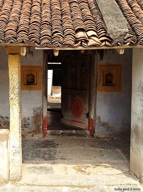 Rural South India Village Home Entrance
